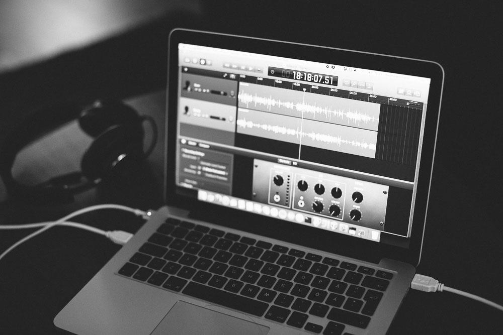 Macbook Pro med Garageband