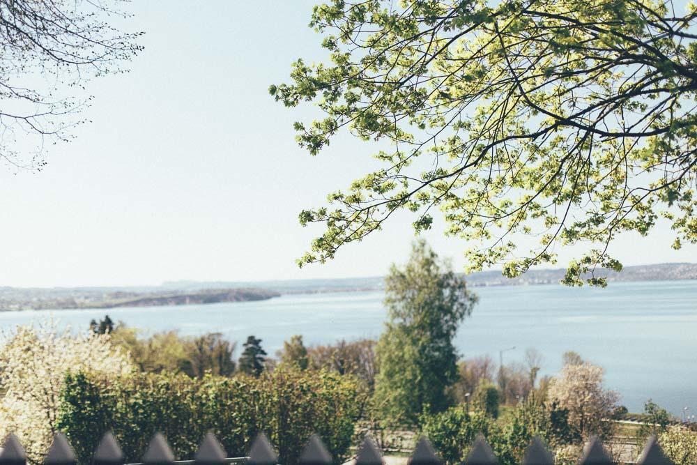 Utsikt från Brunstorp gård