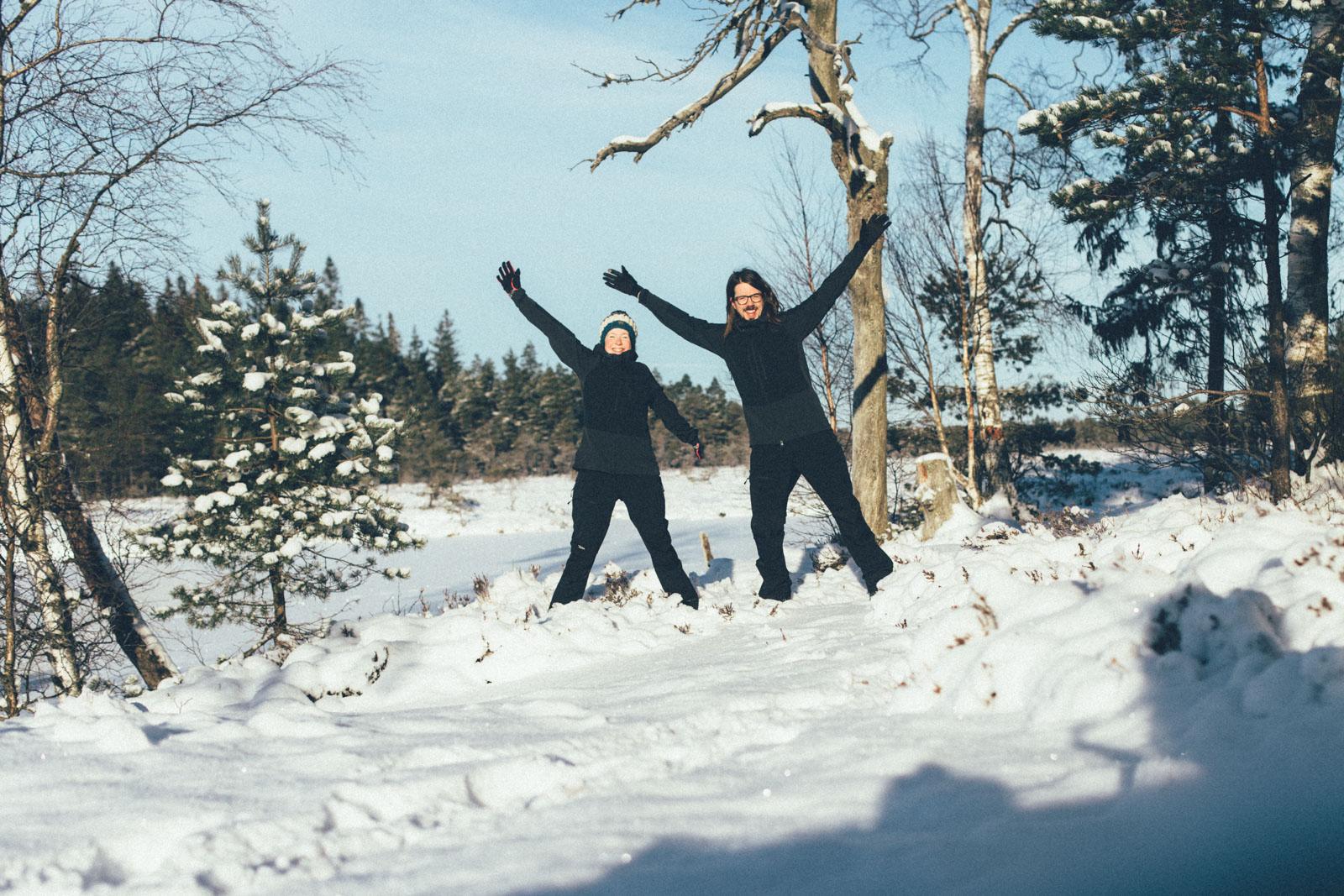 Sanna Lund och Sven Dahlstrand