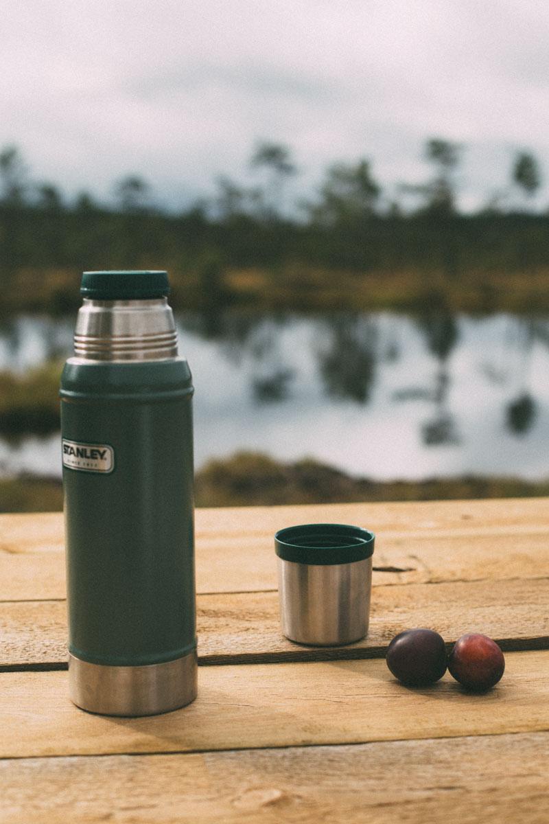 Kaffe och plommon vid Dumme Mosse