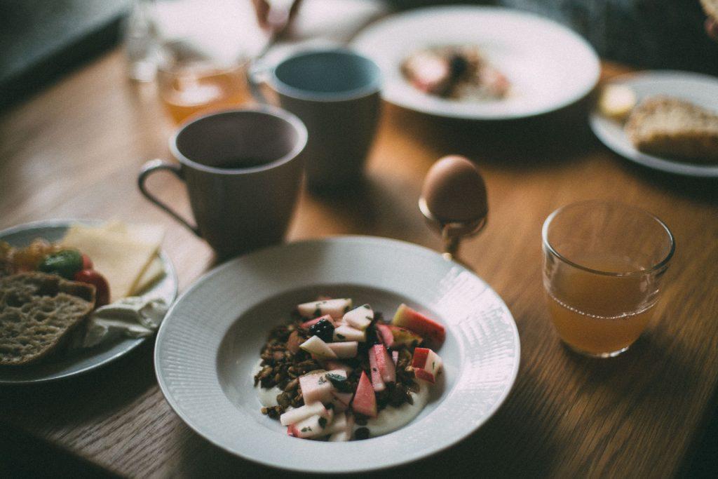 Frukost på Talldungen
