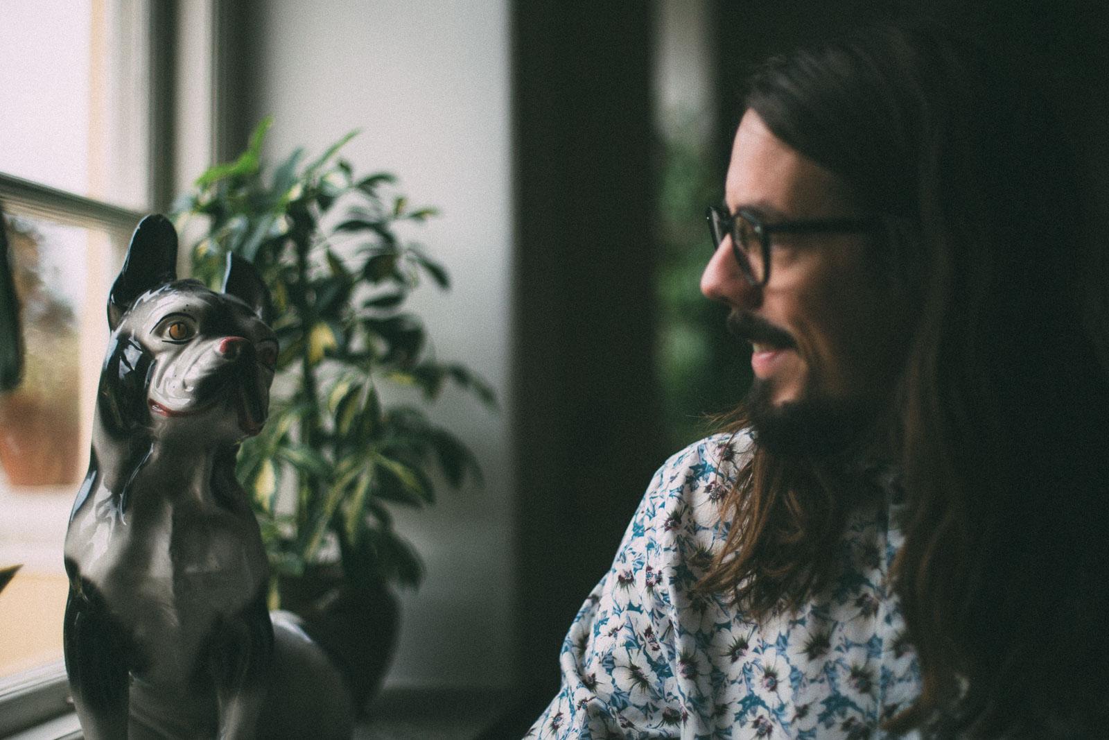 Sven och hunden